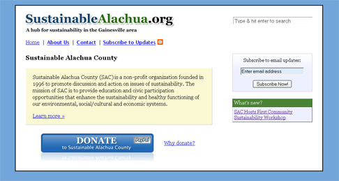 Sustainable Alachua County